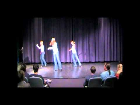 "Performance to ""All of Me"" with choreography by Cailey McCandless. I am the dancer with the ponytail."