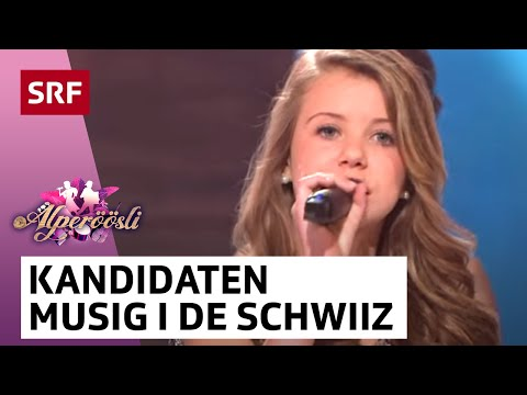 Kandidaten-Ensemble mit Musigg i de Schwiiz - Alperöösli