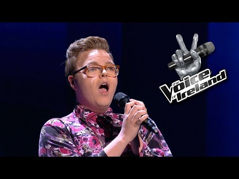 Ciaran O'Driscoll  Creep  The Voice of Ireland  Blind Audition  Series 5 Ep3