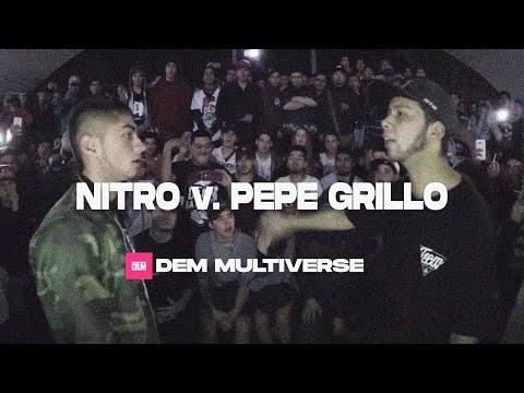 NITRO vs. PEPE GRILLO: 4tos - DEM Multiverse 2017