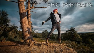 How to turn LANDSCAPES into EPIC PORTRAITS! (Lighting & Photoshop Tutorial 2020)