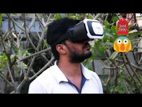 Best Budget VR Headset under 500INR or $5US 2017/2018 (INDIA) - BlackBug VR Headset Review!