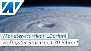 """Monster-Hurrikan """"Dorian"""" trifft auf Florida! (vor Ort: Meteorologin Adrienne Jeske)"""