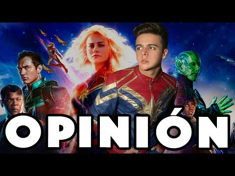 Opinión CAPITANA MARVEL / NAVY