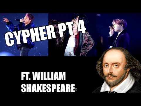 BTS 'Cypher PT 4' but it's translated into Shakespearean English