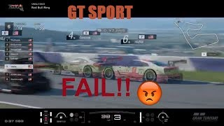 Gran Turismo®SPORT FAIL! Ghost but cannot go through! Red Bull Ring