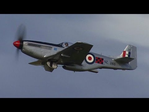 P51D Mustang in New Zealand colours