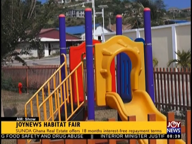 JoyNews Habitat Fair - AM Show on JoyNews (16-8-18)