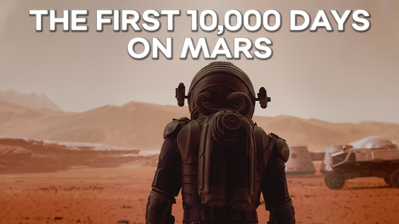 2031-2059 The First 10.000 Days Of The Martian Colonization