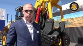 Video still for The World's first vertical lift wheel loader by LiuGong