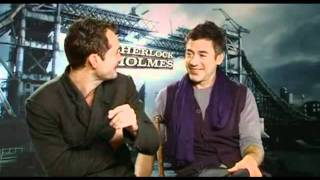FunnyCute Moments with RDJ and Jude Law Pt.1