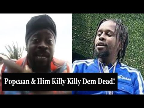 Beenie Man Send $H0TS At Popcaan Face | Persona All About Us 2018
