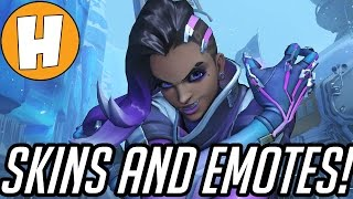 Overwatch - Sombra PTR Skins, Emotes and Voicelines | Hammeh