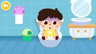 Baby Panda Care: Daily Habits Gameplay | BabyBus Kids Games #8