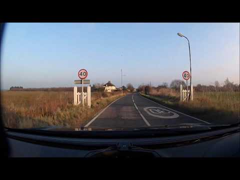DRIVING PLACES - CANEWDON TO WALLASEA ISLAND - ESSEX