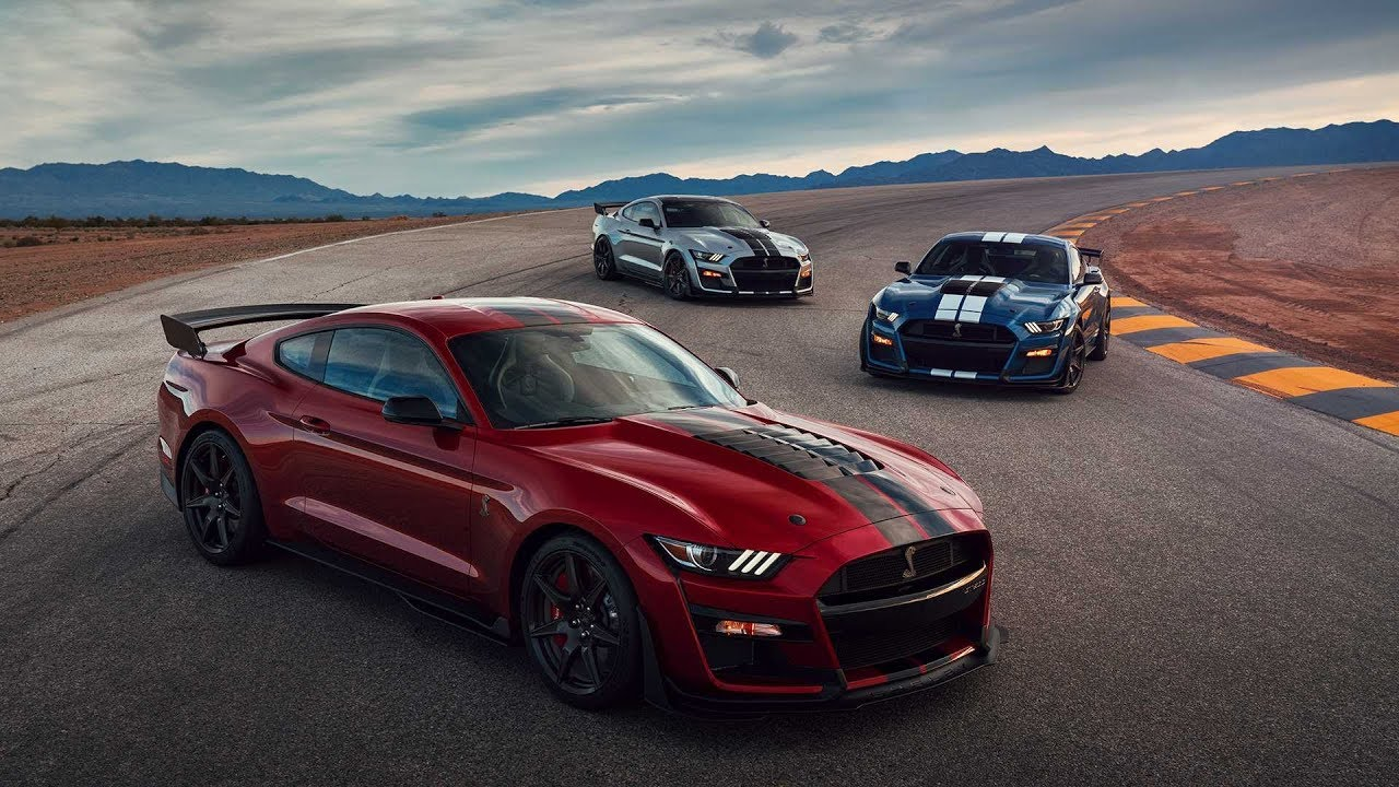 6 minutes of the 2020 ford mustang shelby gt500 driving