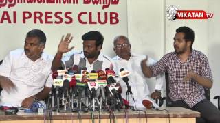 Jallikattu Movement Press Meet | hip hop tamizha,Siva senathipathi PART 2