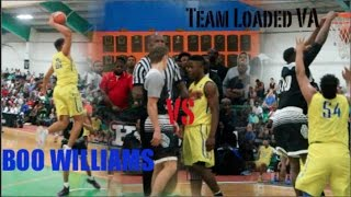 Boo Williams vs #1 RANKED Team Loaded VA!! BATTLE OF THE BRANDS!