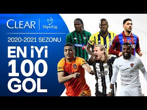 Download Süper Lig'de 2020/2021 Sezonu | En İyi 100 Gol | #ClearSezonunGolleri #GösterKendini