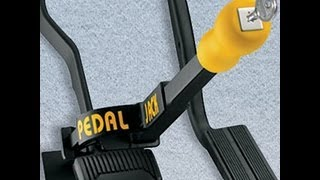 PEDAL JACK Anti Theft Device Review