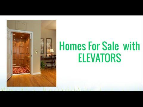 Houses For Sale With Elevators In Maryland Dc Va Youtube