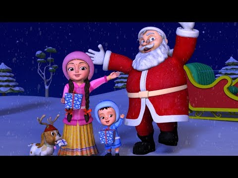 Christmas Songs Collection for Kids | Telugu Rhymes | Infobells