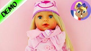 BABY BORN SISTER Vêtements d'automne | Kit jours froids Deluxe avec Bottes, Bonnet et écharpe | Démo