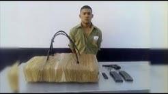 Detienen a hombre con 16 kilos de droga en la frontera