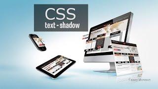 CSS урок 16. Тень текста