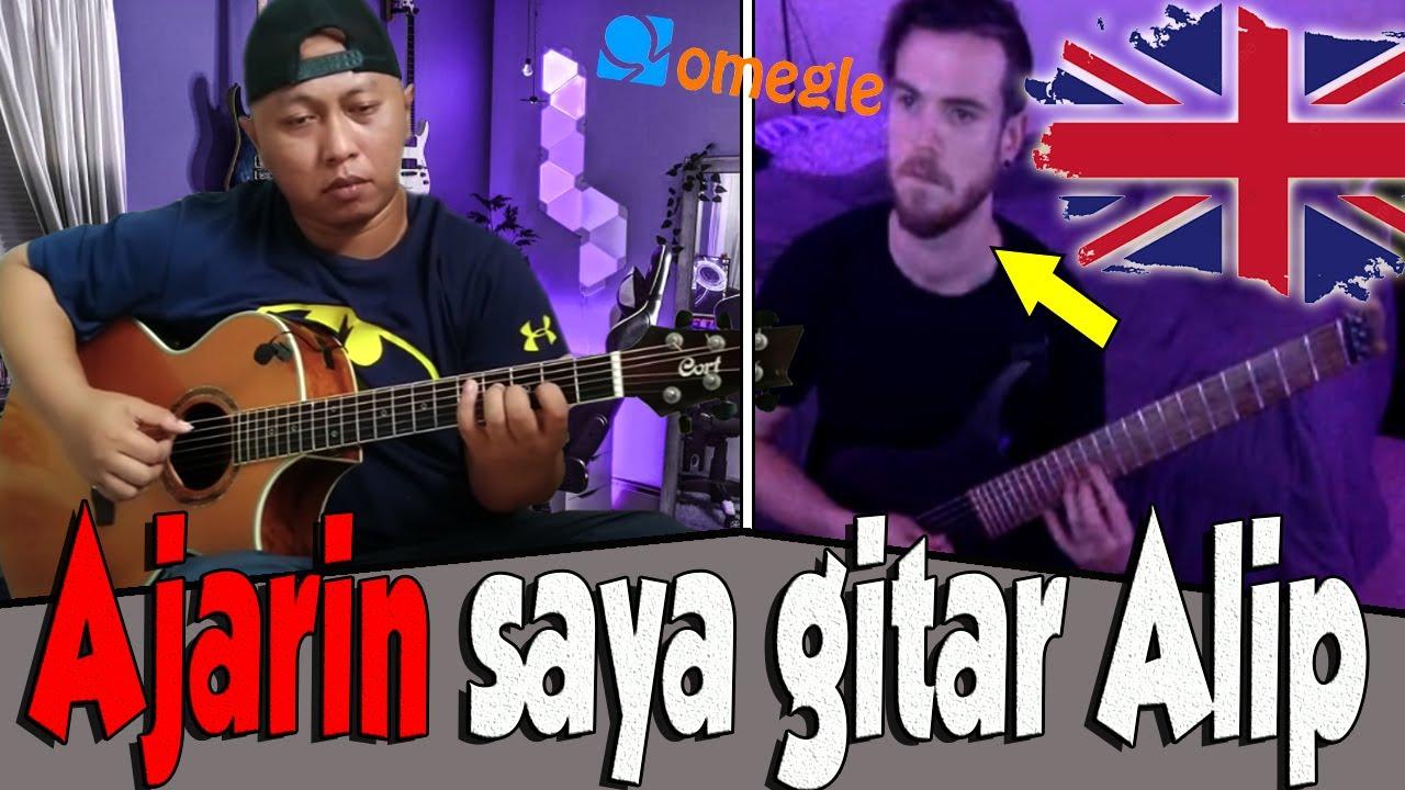 Buset habis jumpa Produser NBC, Kini Gitaris Rock Inggris minta belajar gitar sama Alip..