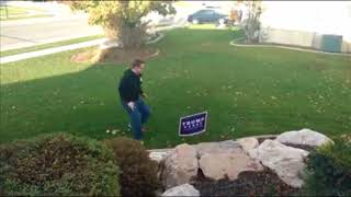 Donald Trump Sign Wired * Funny Trump Sign Video