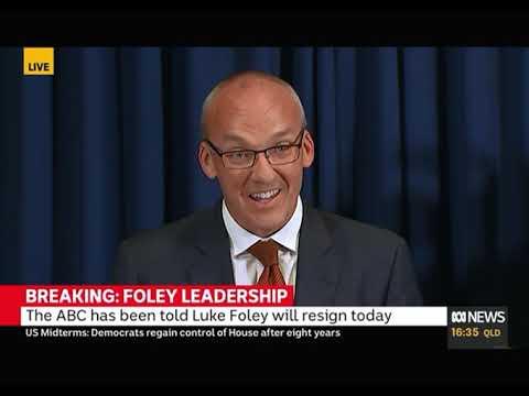 BREAKING:NFOLEY LEADERSHIP, LUKE FOLEY RESIGNED