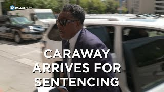 Former Dallas Councilman Dwaine Caraway enters federal court for sentencing
