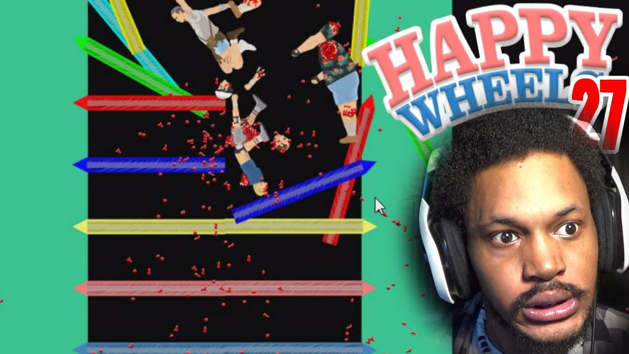 Creative rage levels for days happy wheels 27 - Let s play happy wheels ...
