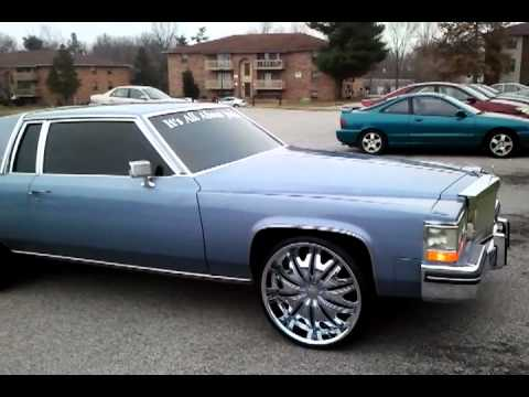 Cadillac deville on 24 39 s youtube - Cadillac coupe deville a vendre ...