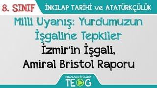 Milli Uyanış: Yurdumuzun İşgaline Tepkiler - İzmir'in İşgali, Amiral Bristol Raporu