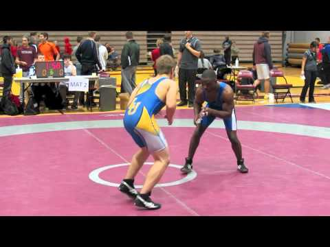 2012 McMaster Invitational: 61 kg Dylan Galloway vs. Gildo Domingos