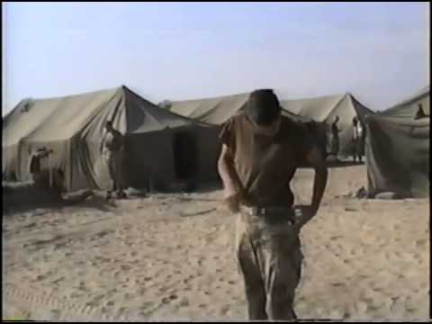 CONAD 2/7 Marine Corps in Saudi Arabia circa January 1, 1991