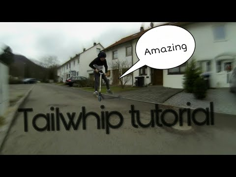 How to tailwhip on a scooter/ German