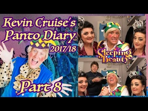 Kevin cruise's Panto Diary 2017/18 Part 8 Featuring THE SKIN & BLISTER SISTERS