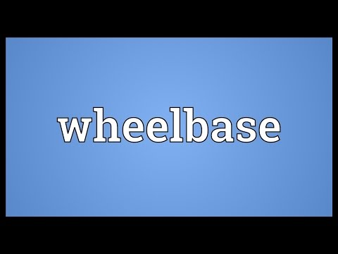 Wheelbase Meaning