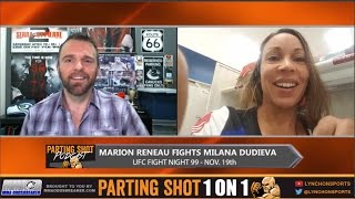 UFC Belfast's Marion Reneau talks Milana Dudieva & says she wants Bethe Correira next