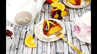 Cake a l'orange ultra léger et moelleux recette simple et rapide