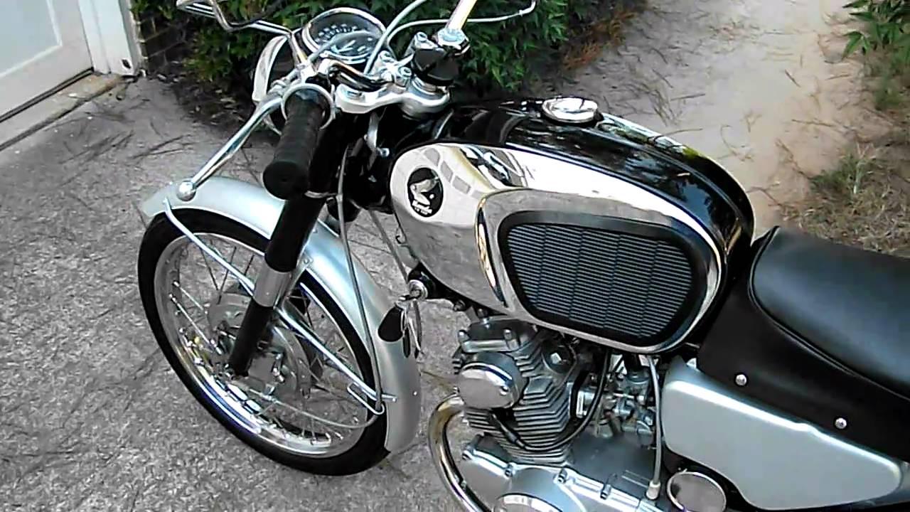 1964 Honda Cb160 Restoration Nearly Complete Youtube