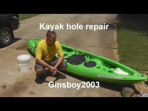 Kayak Hole Repair!