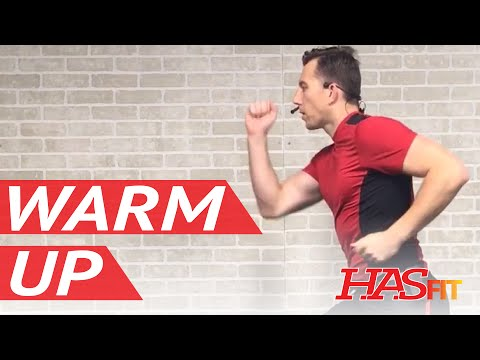 5 Min Dynamic Warm Up Exercises Before Workout - Warm Up Before Running, Cardio, or Lifting Weights