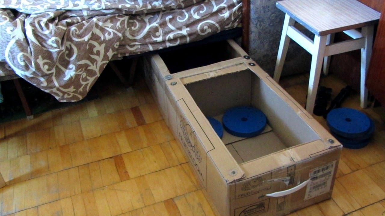 Ящик под кровать своими руками фото 408