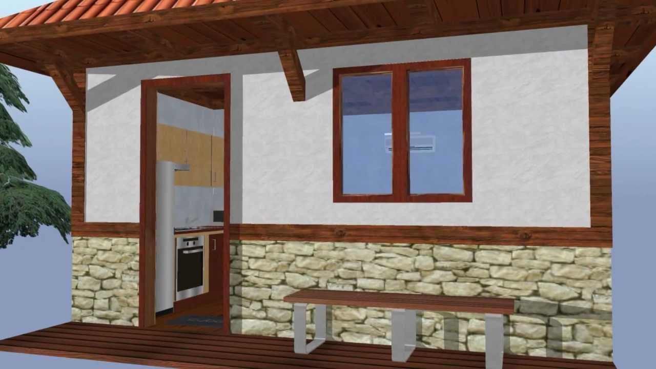 Affordable Tiny Revival Style House Model Qb-20