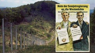 Die Stalinnoten und der Verrat Adenauers an der deutschen Einheit