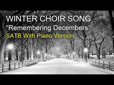 Winter Choir Music - Pinkzebra